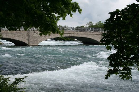 Bridge above Niagra Falls