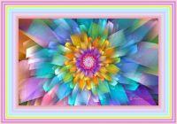 Pastel Fan Flower by Wolfepaw Day-66r6