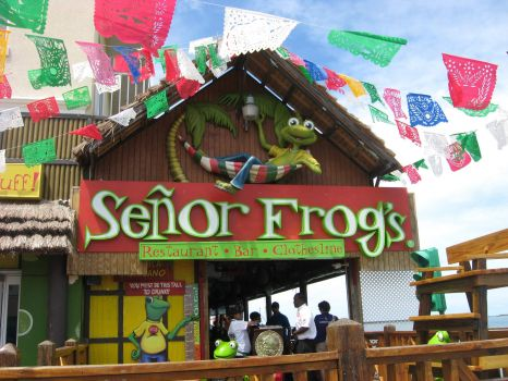 Senor Frog's, Nassau, The Bahamas