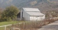 Ranch Barn In Drum Valley In The California Foothills