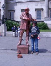 Trafalgar Square Mime 1