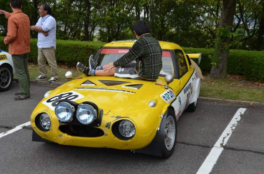 Highly modified Toyota Sports 800 race car