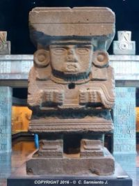 MEXICO – Statue of Chalchiuhtlicue - National Museum of Anthropology