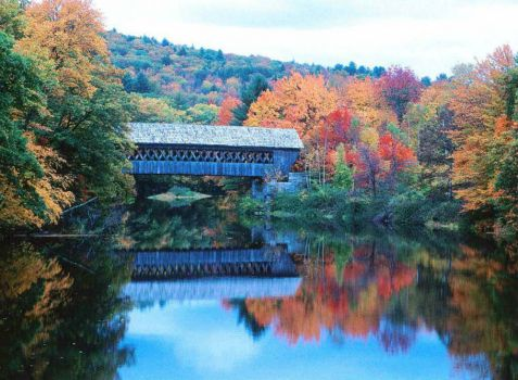 Covered Bridge, New Hampshire