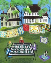 quilt-makers folk art