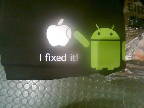 Android to the Rescue - artist unknown