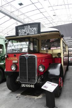 London Bus Museum Brooklands 01-03-2019 Reg No UU6646 AEC Regal I bus – T31 1929 01