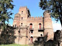 Old castle in Ethiopia