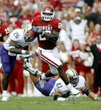Adrian Peterson as a Sooner!