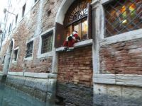 Lonely Santa Venice