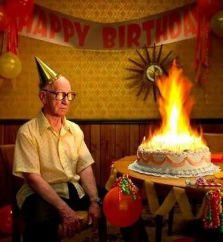 Happy Birthday...when we're 70...you'll find me still burning the candle
