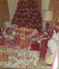 Christmas- Granny's Mondo-Piled Christmas Tree