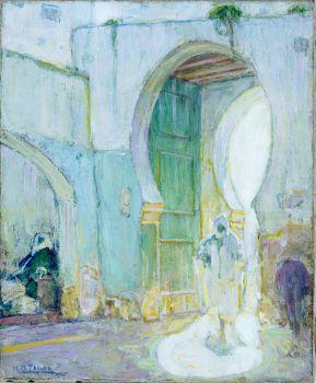 Gateway,Tangier, Henry Ossawa Tanner, c. 1912