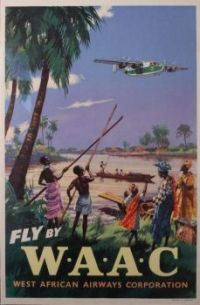 Travel Poster for West African Airways