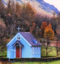 Small Chapel in Iceland...