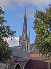 Decatur (Georgia -- suburb of Atlanta) Presbyterian Church Steeple, Oct 2021
