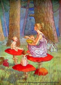 1920s fairies lunch time