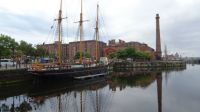 Sailing ship, Liverpool.