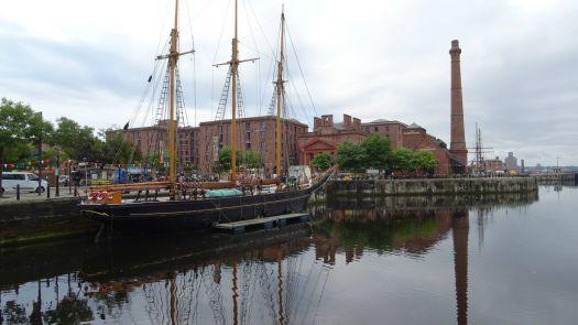 Sailing ship, Liverpool.