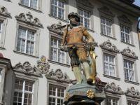 Schaffhausen - William Tell Fountain