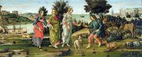 Botticelli - The Judgement of Paris (1485)