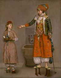 A Frankish Woman and Her Servant