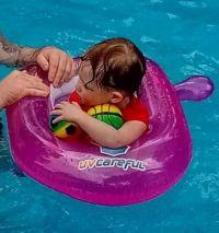 Maddie In The Pool!!  (Videos)