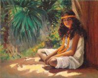 Portrait of a Polynesian Girl