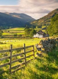 St John's in the Vale, the Lake District National Park, Cumbria, England