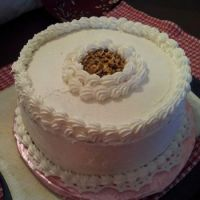 Spiced Caramel Cake Surprise w/ Toasted Pecans