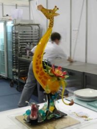 Sugar work for confectioners WorldSkills London2011