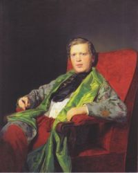 Ferdinand Georg Waldmüller (Austrian, 1793–1865), Emanuel Ritter von Neuwall (1841)