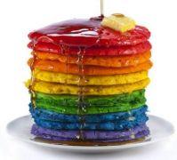 RainBow Pride PanCakes