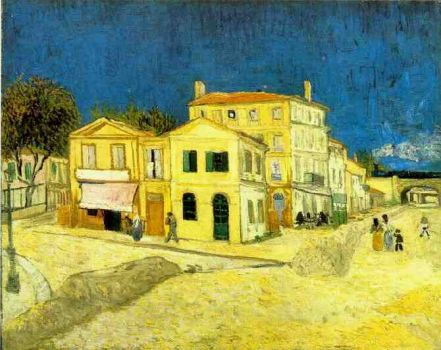 Vincent's House in Arles, 1888  Van Gogh
