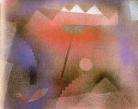 Paul Klee: Pájaro deambulando, 1921