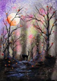 Soft Autumn Painting
