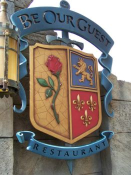 BE OUR GUEST RESTAURANT, DISNEY WORLD