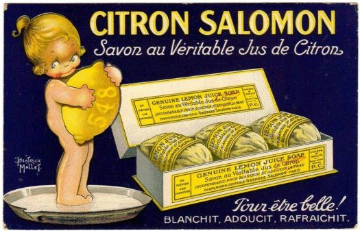 Themes Vintage ads - LEMON JUICE SOAP
