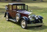 1928 Rolls-Royce Phantom I Town car Landaulette by Brewster