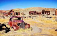 Stark spaces from around the globe: Bodie Ghost Town, California.
