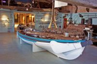 Theme: Whaleboat at the  Nantucket Whaling Museum