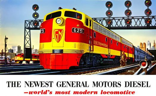 GENERAL MOTORS DIESEL - ELECTRO MOTIVE, 1950