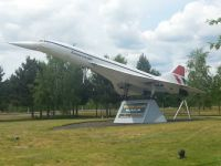 Concorde Model at Brooklands