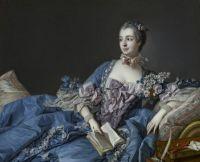 François Boucher - Madame de Pompadour (ca. 1758)