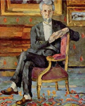 Paul Cézanne: Portrait de Victor Chocquet assis (1877)