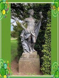 Statue in National Trust Hardwick UK
