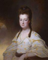 George Romney Portrait of Dorothy Cavendish circa 1772