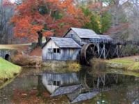 Mabry's Mill on Blue Ridge Parkway
