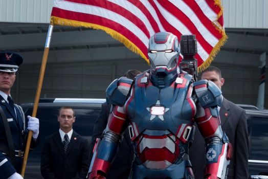 Iron Patriot - Iron Man 3