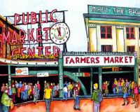 Pike Place version 2 Tile